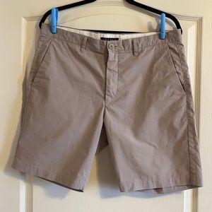 Theory Men's Pinstripe Cotton Blend Shorts - Sz 34